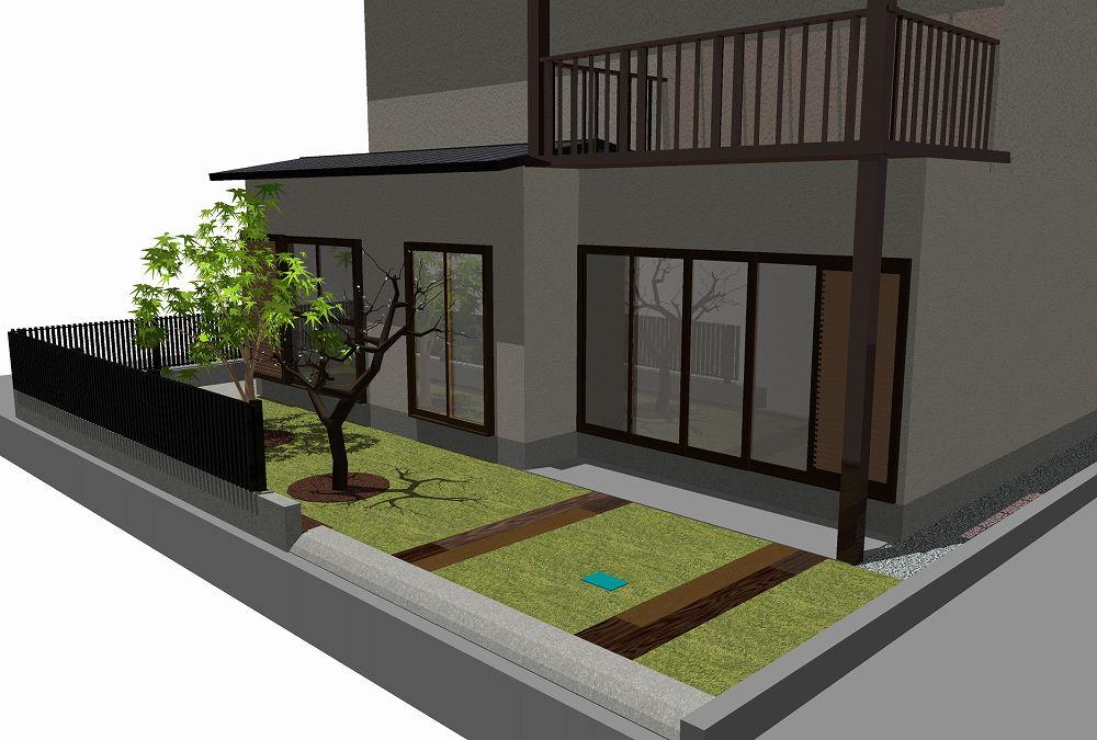 パターン3(枕木)