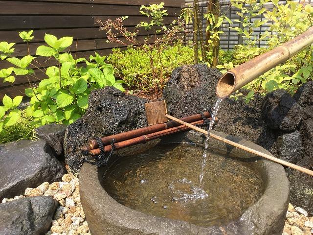 本来の持ち味を生かし日本庭園の景観に。
